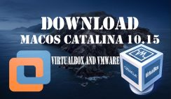 Download macOS Catalina VMware and Virtualbox Image