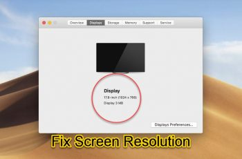 Fix macOS Mojave Screen Resolution on VirtualBox