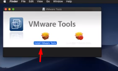 """Install VMware Tools on macOS Mojave"