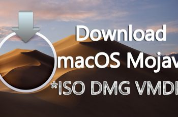 Download macOS Mojave ISO DMG VMDK File