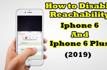 How to Disable Reachability on iPhone 6 and iPhone 6 Plus