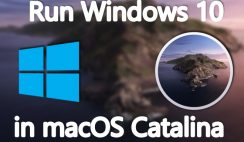 Run and Install Windows 10 in macOS Catalina with a Free Emulator