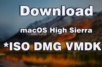 Download macOS High Sierra ISO DMG VMDK File