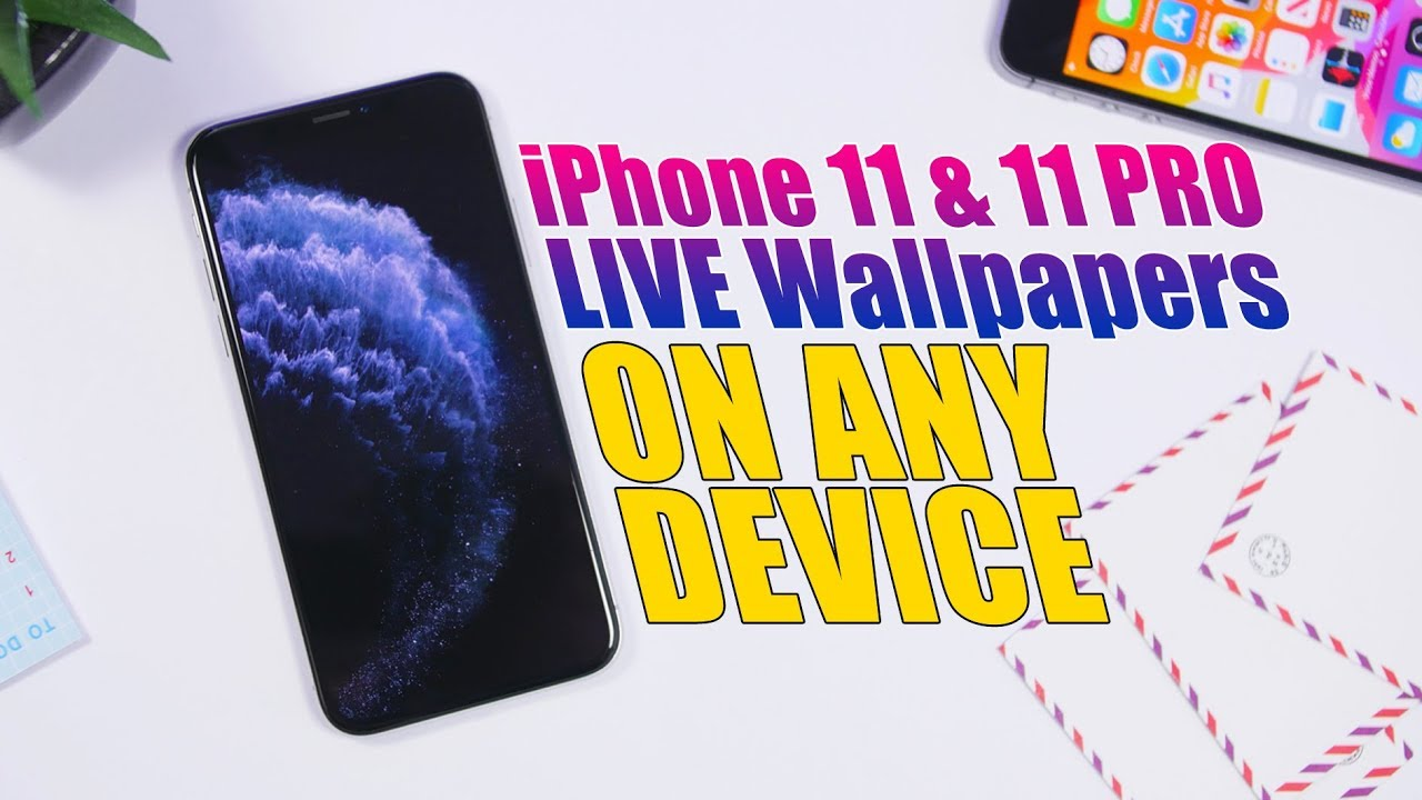 How to Get iPhone 11 Live Wallpapers on Any iPhone