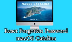 How to Reset macOS Catalina Forgotten Password
