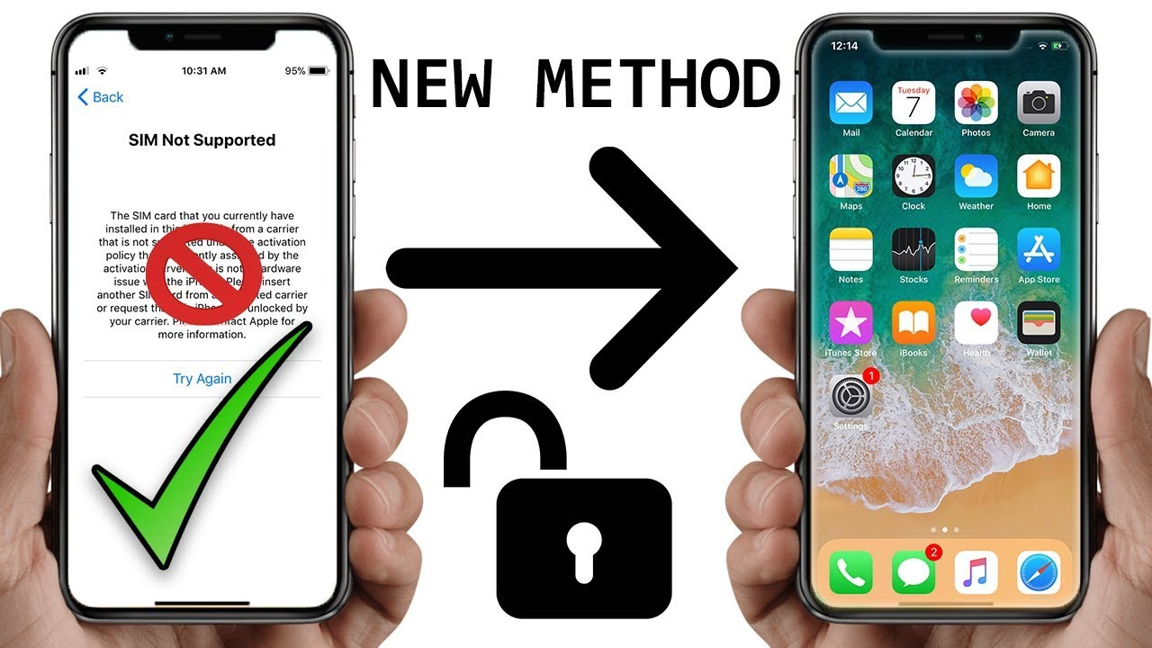 Fix Sim Not Supported on iPhone Issue