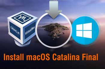 How to Install macOS Catalina Final on VirtualBox on Windows PC