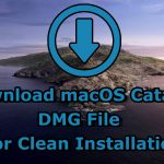 Download macOS Catalina DMG File for Clean Installation