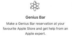 How To Make A Genius Bar Reservation