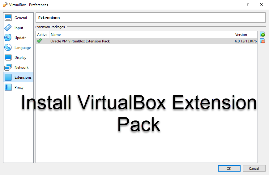 How to Install VirtualBox Extension Pack and Enable USB 3.0