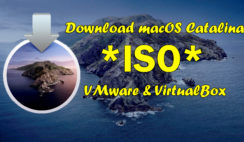 Download macOS Catalina 10.15 ISO For VMware & VirtualBox