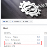 How to Change Facebook Page URL 2020