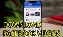 How to Download Facebook Video to iPhone Camera Roll 2020