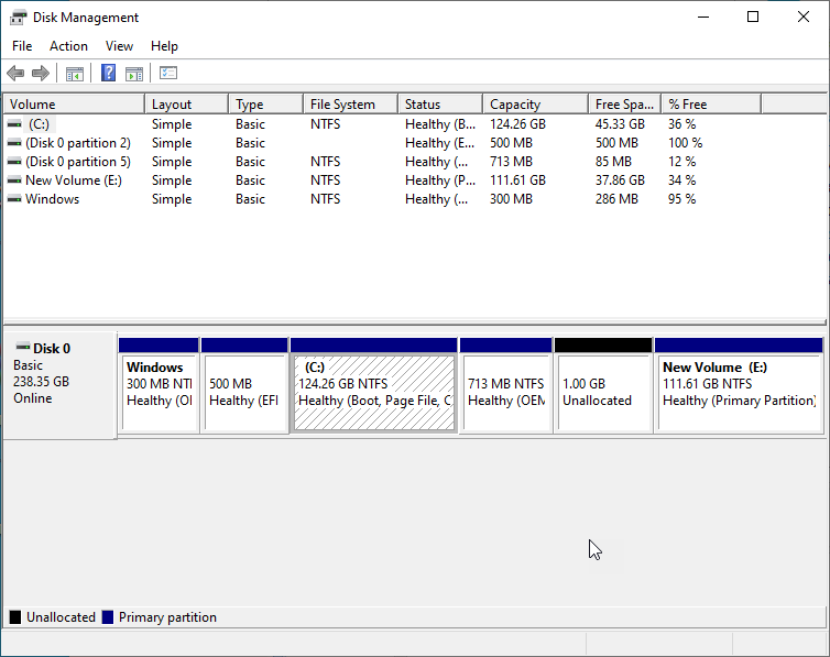 Increase C Drive Space In Windows 10