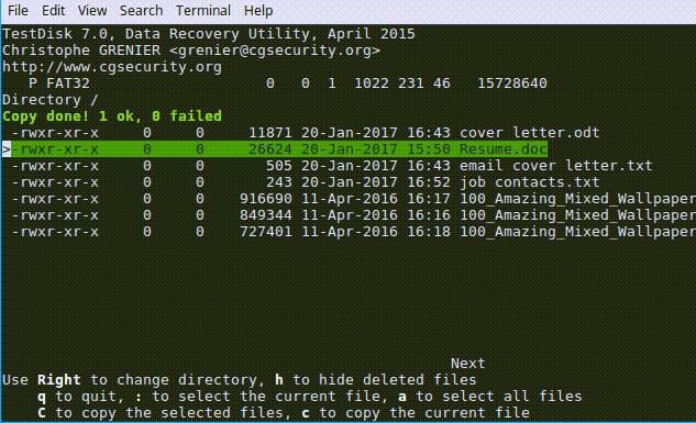 Recover Deleted Files In Linux