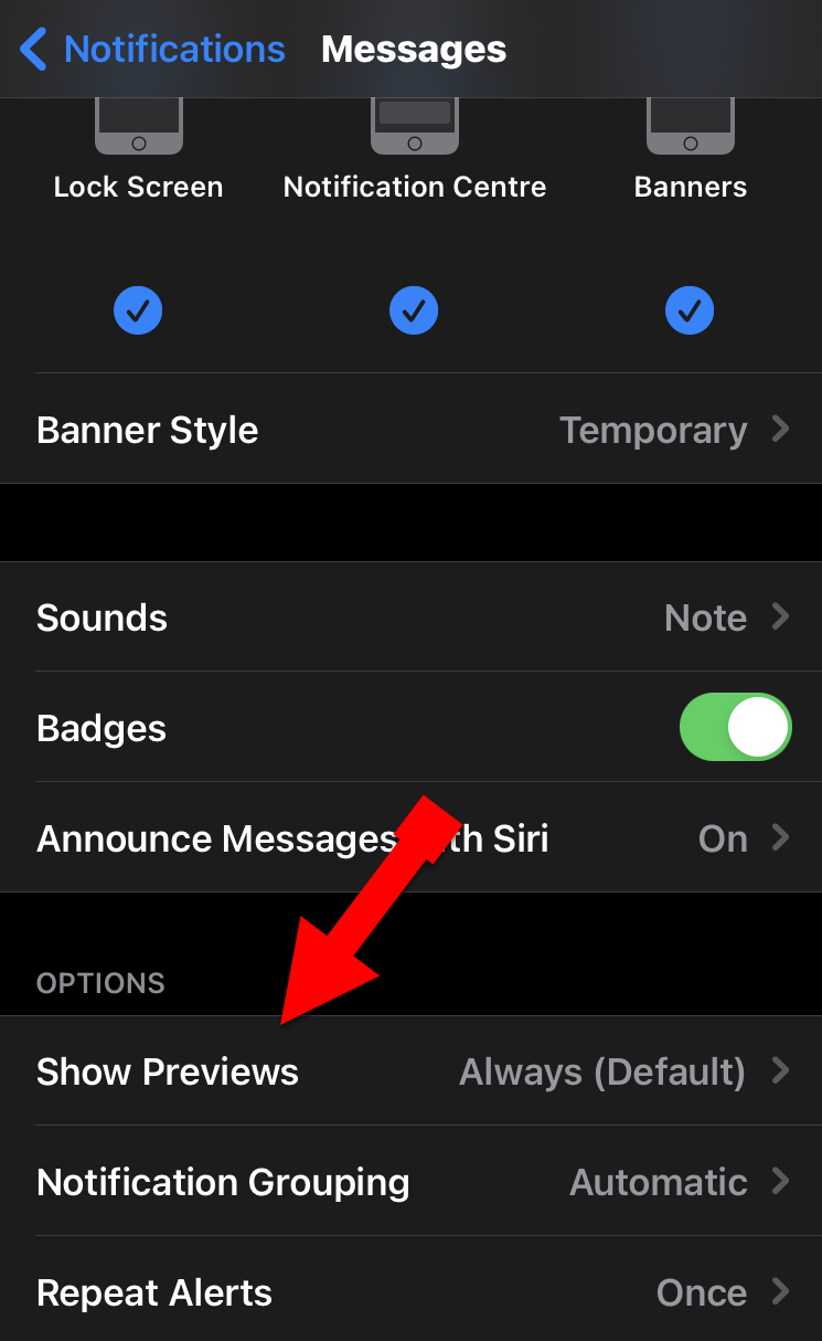 Activate iMessage on iPhone