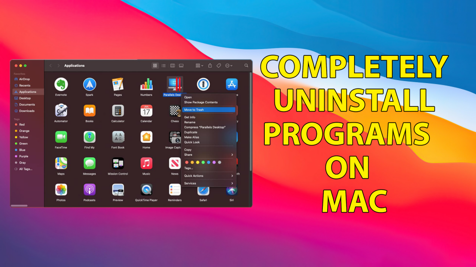 How to Completely Uninstall Programs on Mac