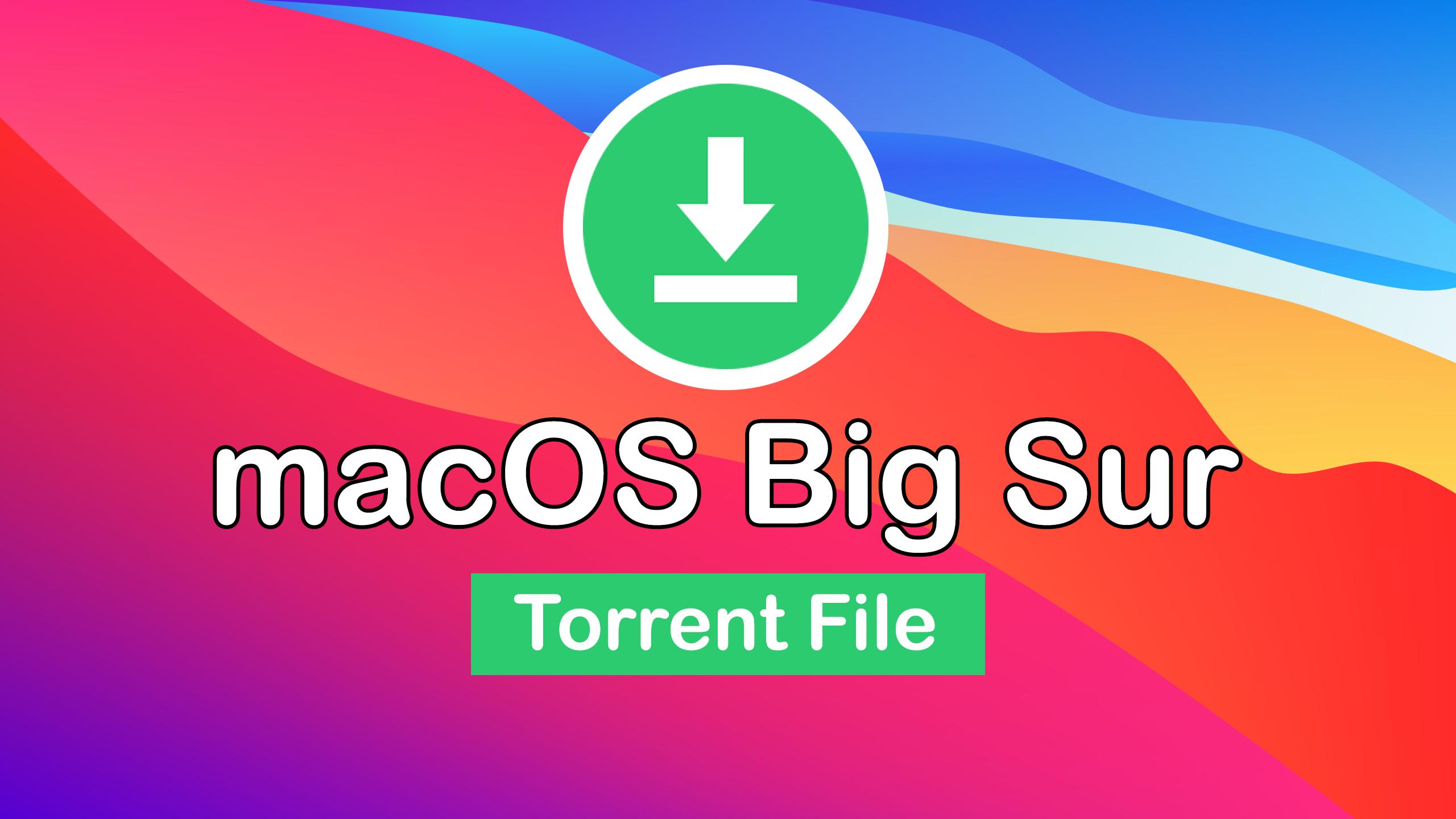 Download macOS Big Sur Torrent Image
