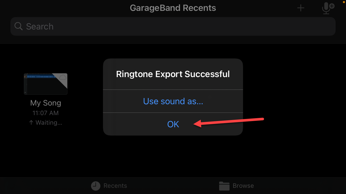 set song as iPhone Ringtone