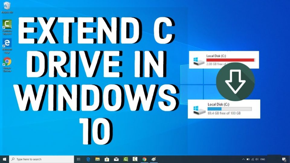 How to Extend C Drive on Windows 10 Without Any Software