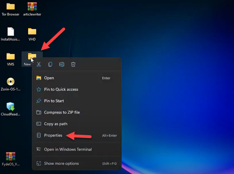 Hide Files, Folders, and Drives in Windows 11