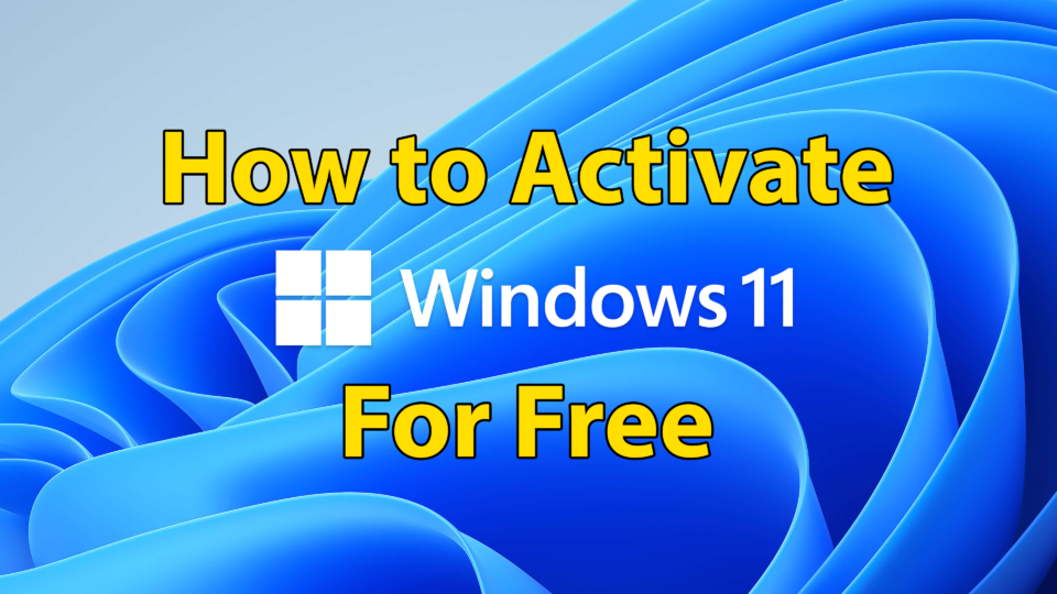 Activate Windows 11 without Product Key