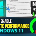 Ultimate Performance in Windows 11