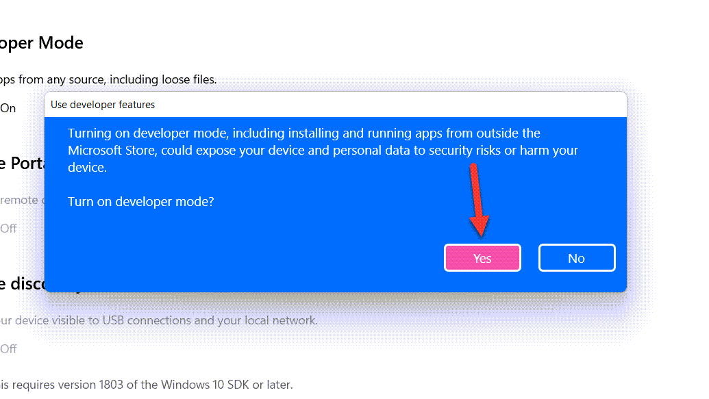 How to Enable Developer Mode in Windows 11?